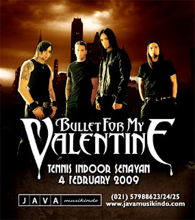 Konser Bullet For My Valentine Di Jakarta