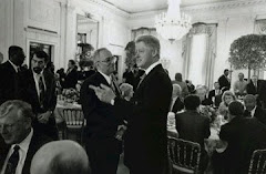 Rev. Jeremiah Wright Consoles President Clinton in 1999