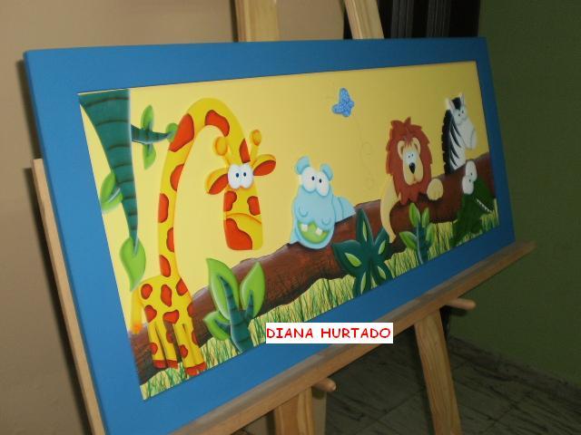 Art decorativo cuadros decorativos para ni os - Cuadros para habitaciones infantiles ...