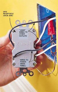 gen3 electric  215  352 5963 line  load on a gfci outlet