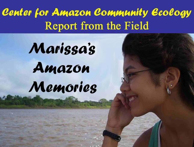 Marissa's Amazon Memories