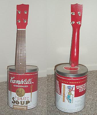 andy warhol ukulele