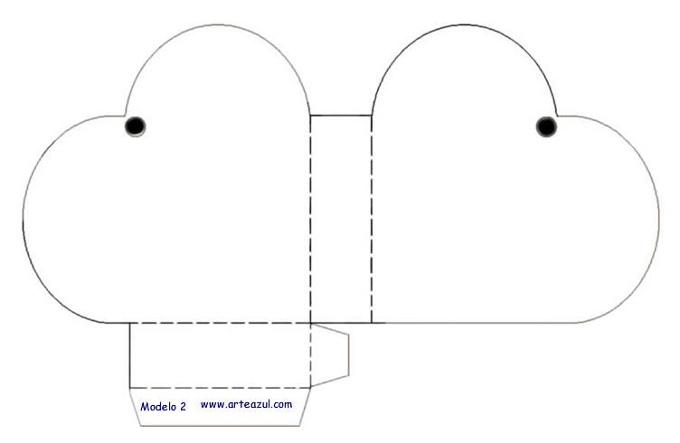 Patrones para hacer cajas - Imagui