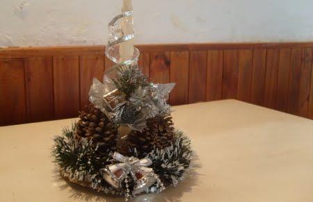 Manualidades - Centro de mesa navideno ...