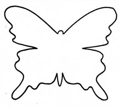 ... cuidado de no coser las alas de las mariposas al almohadon molde