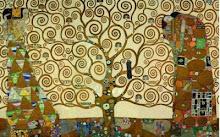 El árbol de la vida.- Klimt.-
