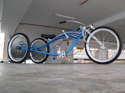 Custom Stretched Beach Cruiser Bicycleshtml  Autos Weblog