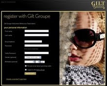 Click Image to get your exclusive membership invitation to Gilt Groupe!