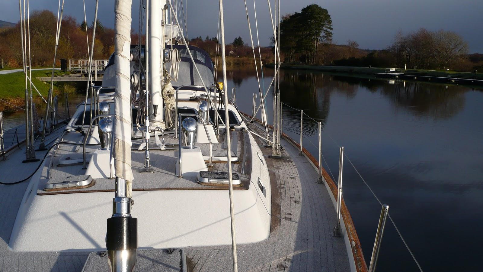 Moonshadow Yacht Charter Winter 2010 In Banavie