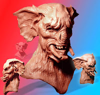 Mutated Character Sculpture