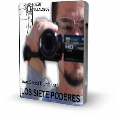LOS SIETE PODERES, Omar Villalobos [ VIDEO DVD + AUDIOLIBRO ] – Aprender a trabajar con nuestro pasado, nuestro presente y nuestras emociones