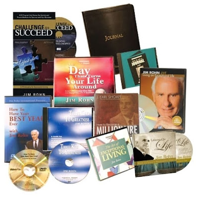 COLECCIÓN MENTALIDAD, Jim Rohn [ Libro ] – Selección de los 50 Mejores Escritos de la Biblioteca de Jim Rohn.