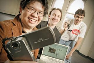 Steve Shih Chen, Jawed Karim, Chad Hurley , penemu YouTube