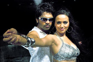 Simbhu,sana khan's silambattam movie stills 11122008