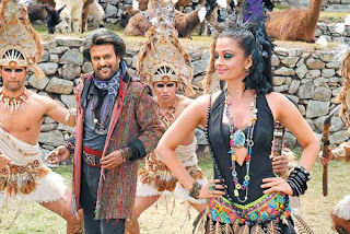 02Rajni kanth, Aishwarya rai, in enthiran