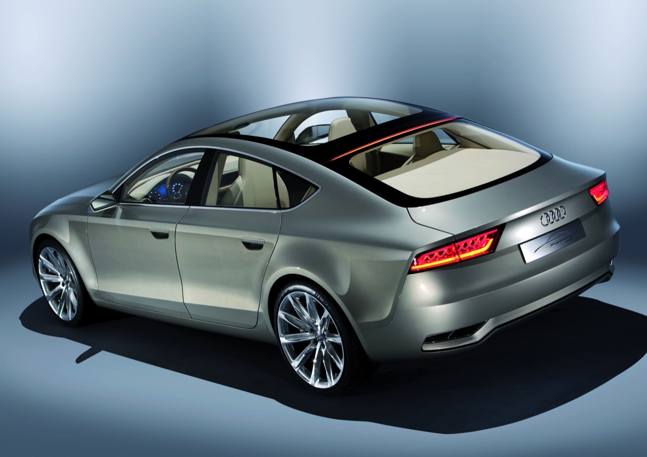 audi a7 sportback details and images techbolts. Black Bedroom Furniture Sets. Home Design Ideas