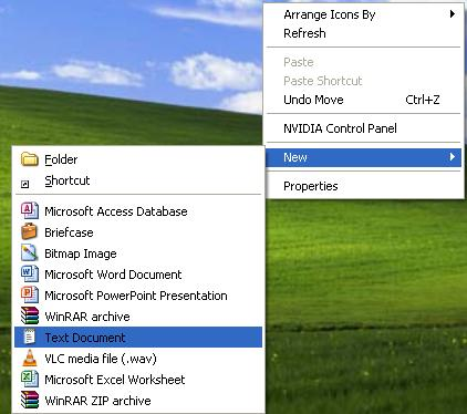 how to delete junk files in windows xp