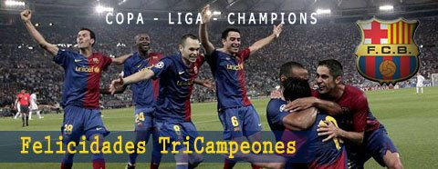 El Barcelona gana su tercera Champions League