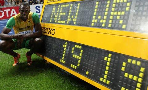 Usain Bolt 200 metros en 19.19