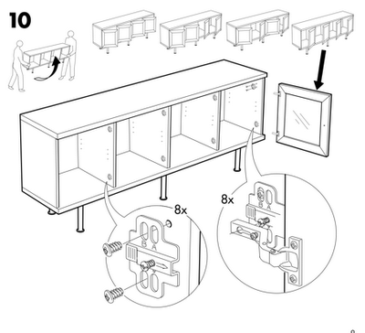 Literacy families and learning the importance of reader for Ikea assembly instructions help