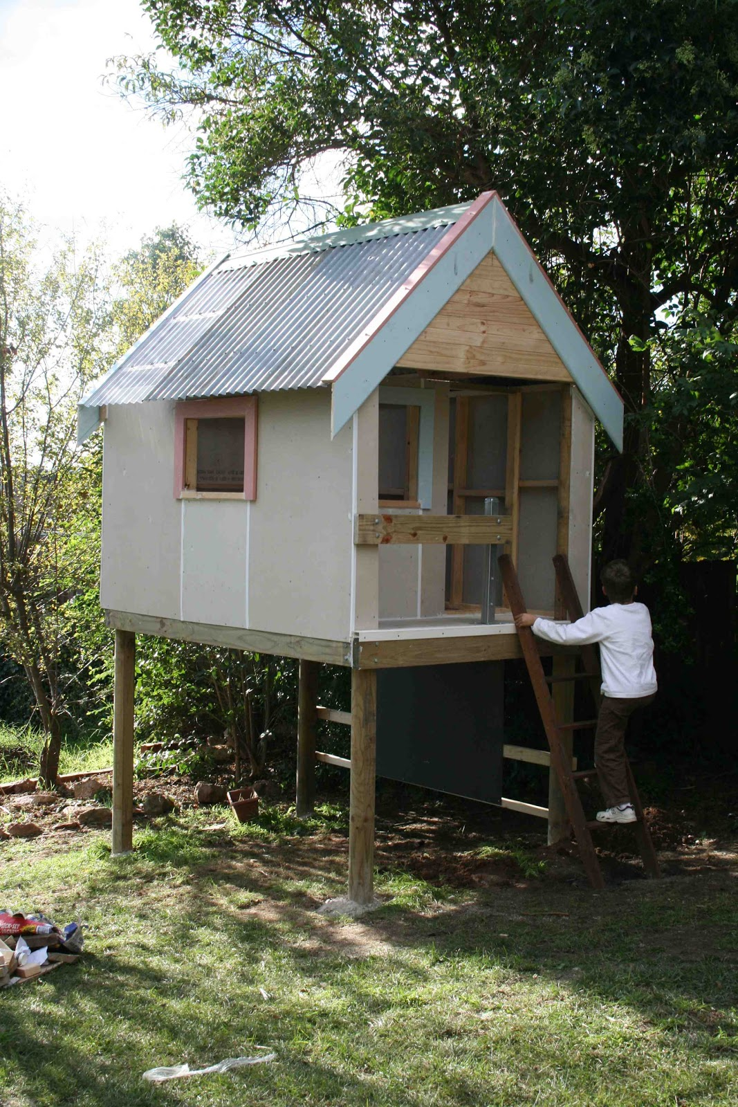 Literacy Families And Learning The Cubby House A Site For - Cubby house