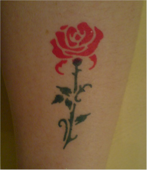 tattoos designs rose tribal tattoo. Black Bedroom Furniture Sets. Home Design Ideas