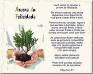 Este blog tiene el premio el arbol de la felicidad