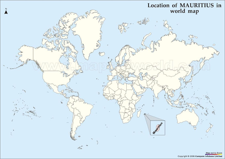 Leahs Ambassadorial Scholarship To Mauritius - Mauritius location in world map