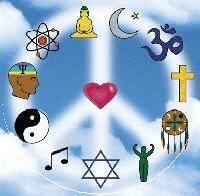 One God Peace Symbol