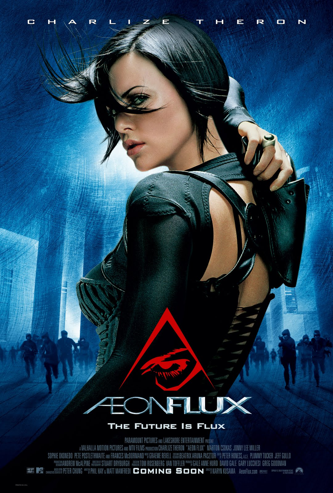a review of the movie aeon flux Review: aeon flux posted on march 27  a skilled warrior, named Æon flux,  it ticks all the boxes for what you would expect from a sci-fi movie,.