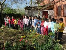 El huerto en primavera