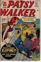 Patsy Walker scaring a gentleman