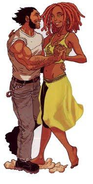 Wolverine dancing