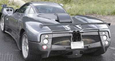 Pagani C9 -first amazing spy pictures