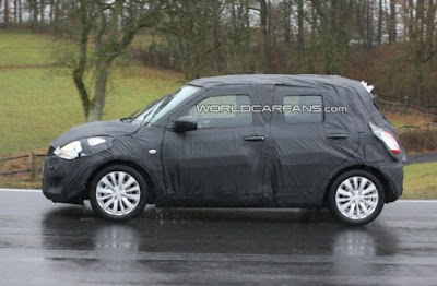 2011 Suzuki Swift Latest Spy Pictures