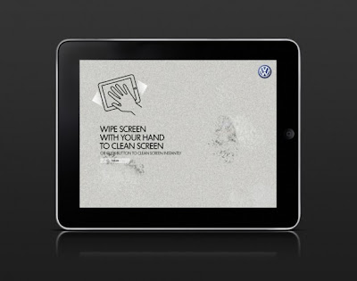 Volkswagen iPad application