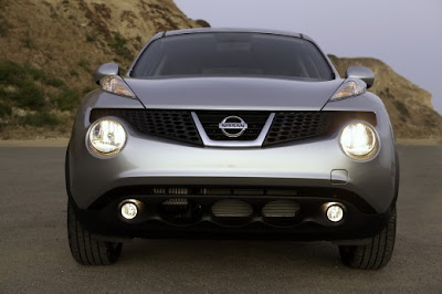 New photos of Nissan Juke