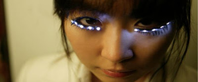 LED Eyelashes : Like a Audi Lights - Audi Fan Girls