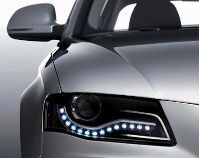 LED Eyelashes : Like a Audi Lights - Audi Fan Girls