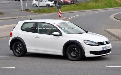 Volkswagen Golf Mk7 2012 new spy pictures