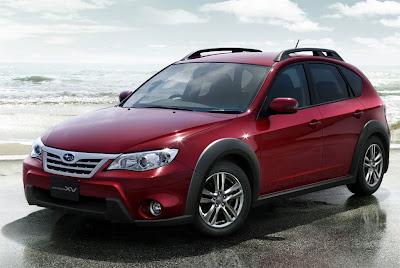 New photos Subaru Impreza XV and details