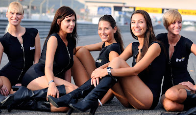 Moto Gp and  Bwin Girls