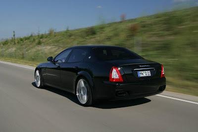 Maserati Quattroporte performed Novitec