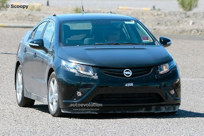 2012 Opel AMPERA details and spy pictures