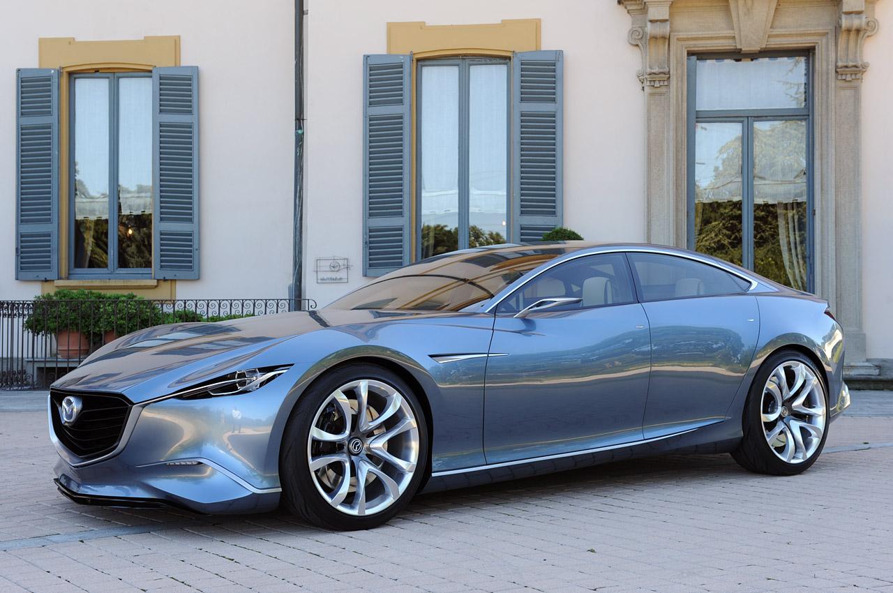 Mazda Motor Corporation has introduced a new perfect concept car Shinari