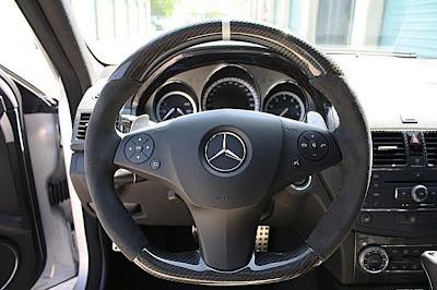 In MEC Design pumped Mercedes C63 AMG tuned photos