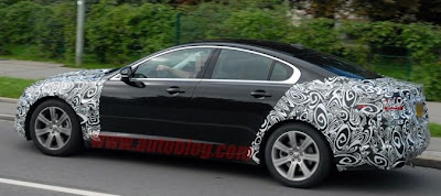 2011 Jaguar XF gets facelift XJ headlights