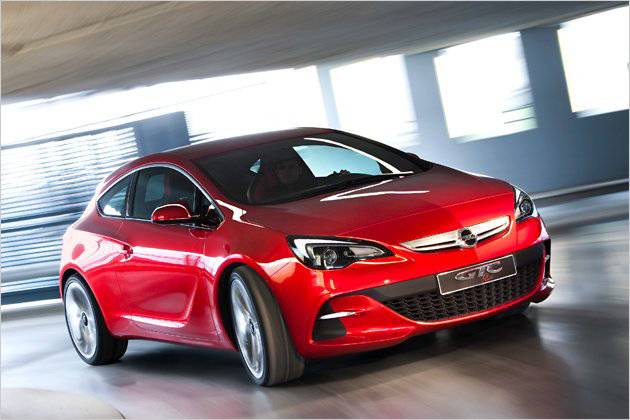 2011 opel vauxhall astra gtc paris stylish interior and 290 hp and first live photos garage car. Black Bedroom Furniture Sets. Home Design Ideas