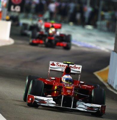 Formula 1: Singapore free practice 3