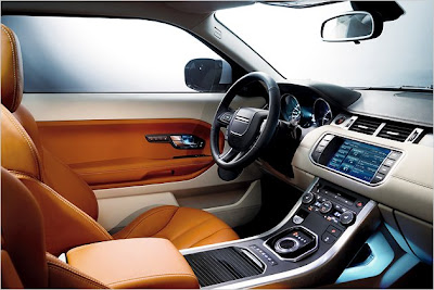 Range Rover evoque: New pictures interior
